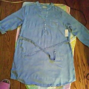 Denim Blue Tunic